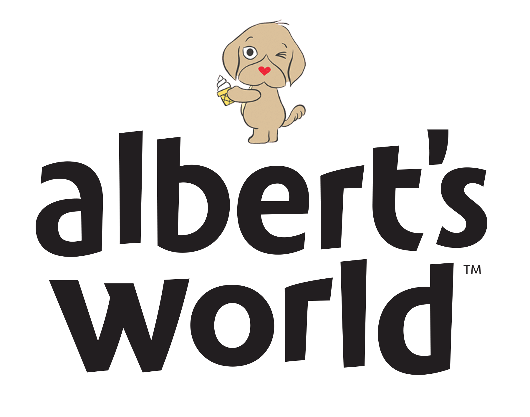 Custom Lettering: Albert's World