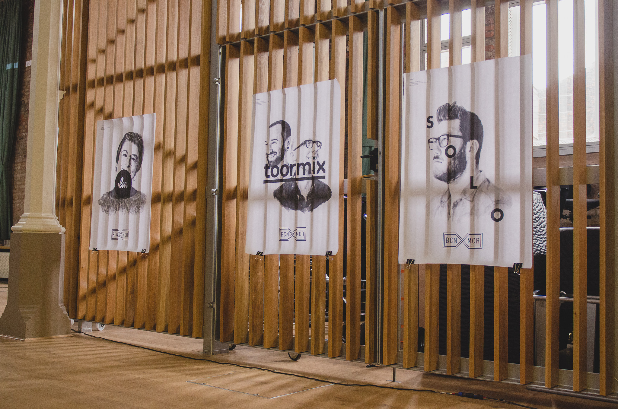 Custom Lettering and lecture: BCNMCR Project