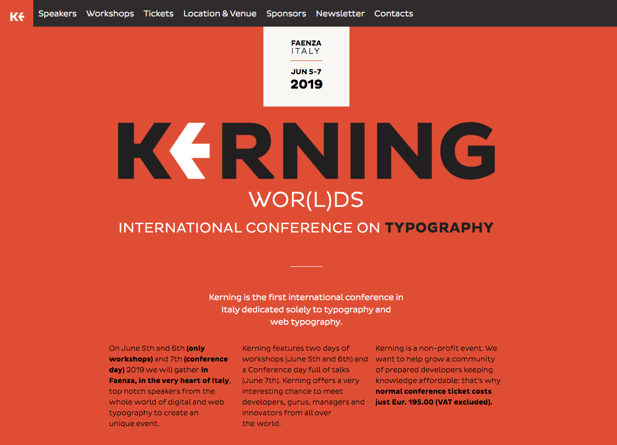 LauraMeseguerNews_Talk at Kerning Conference 2019