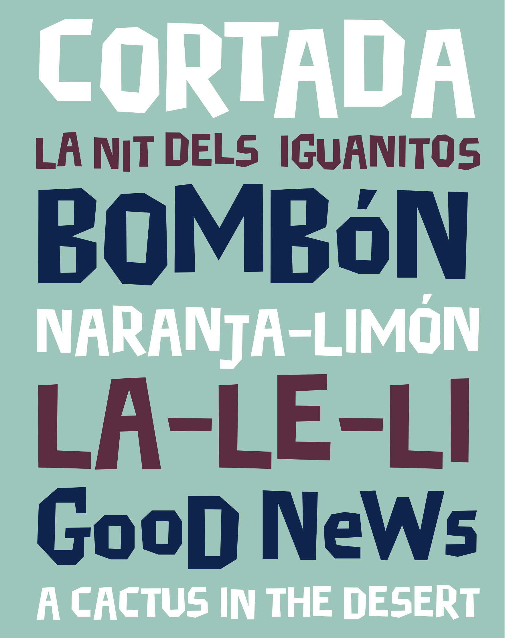 Retail Type Design: Cortada