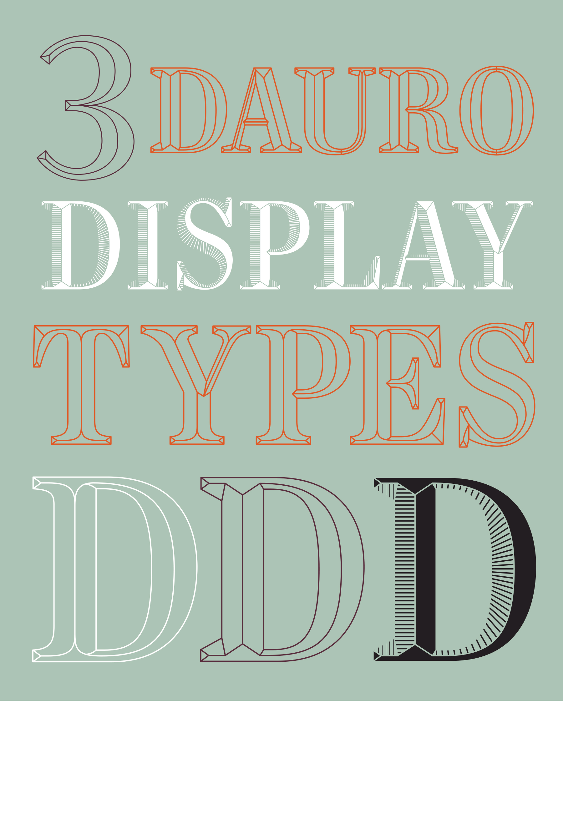 Custom Type design: Dauro