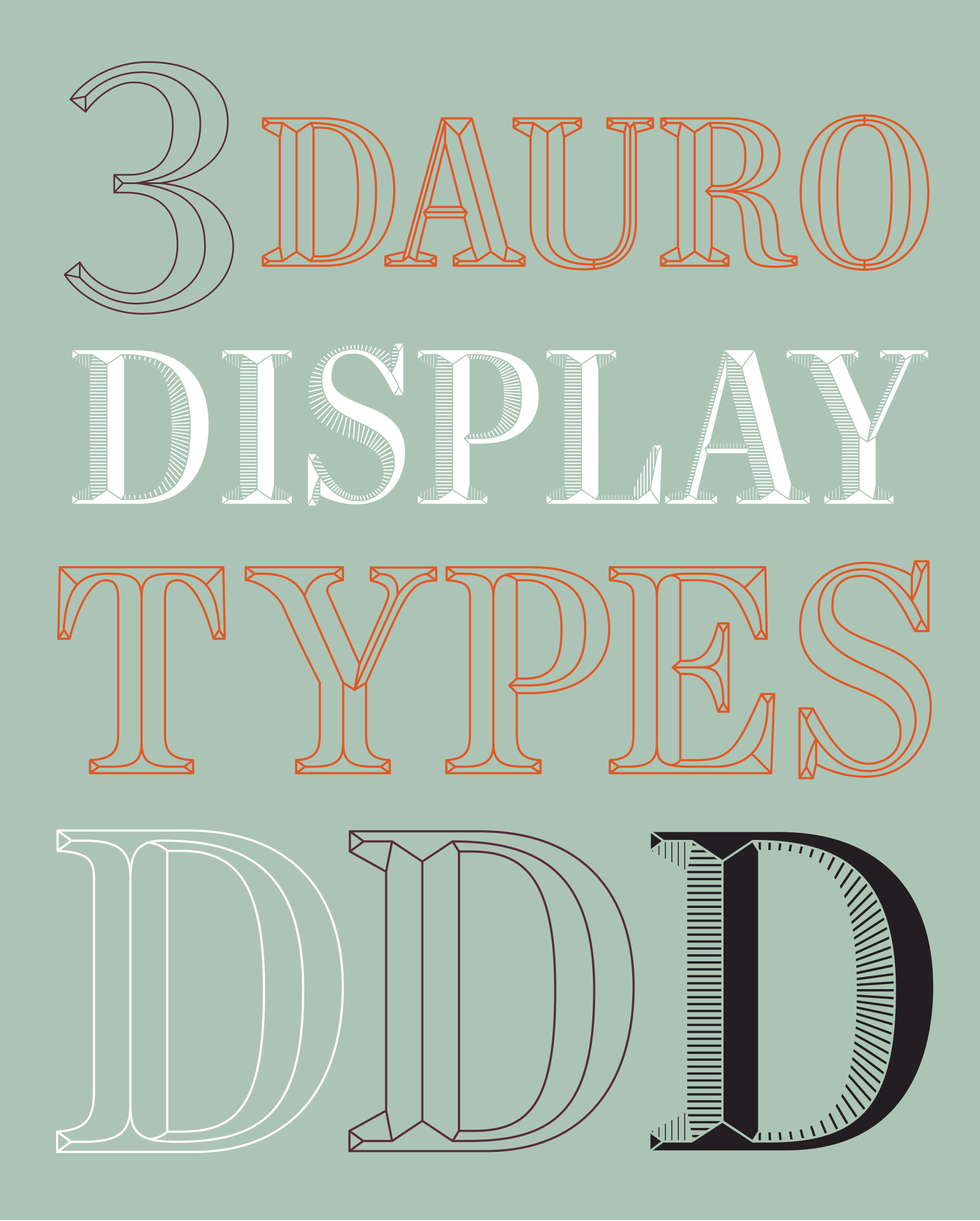 Custom Type Design: Dauro Olive Oil