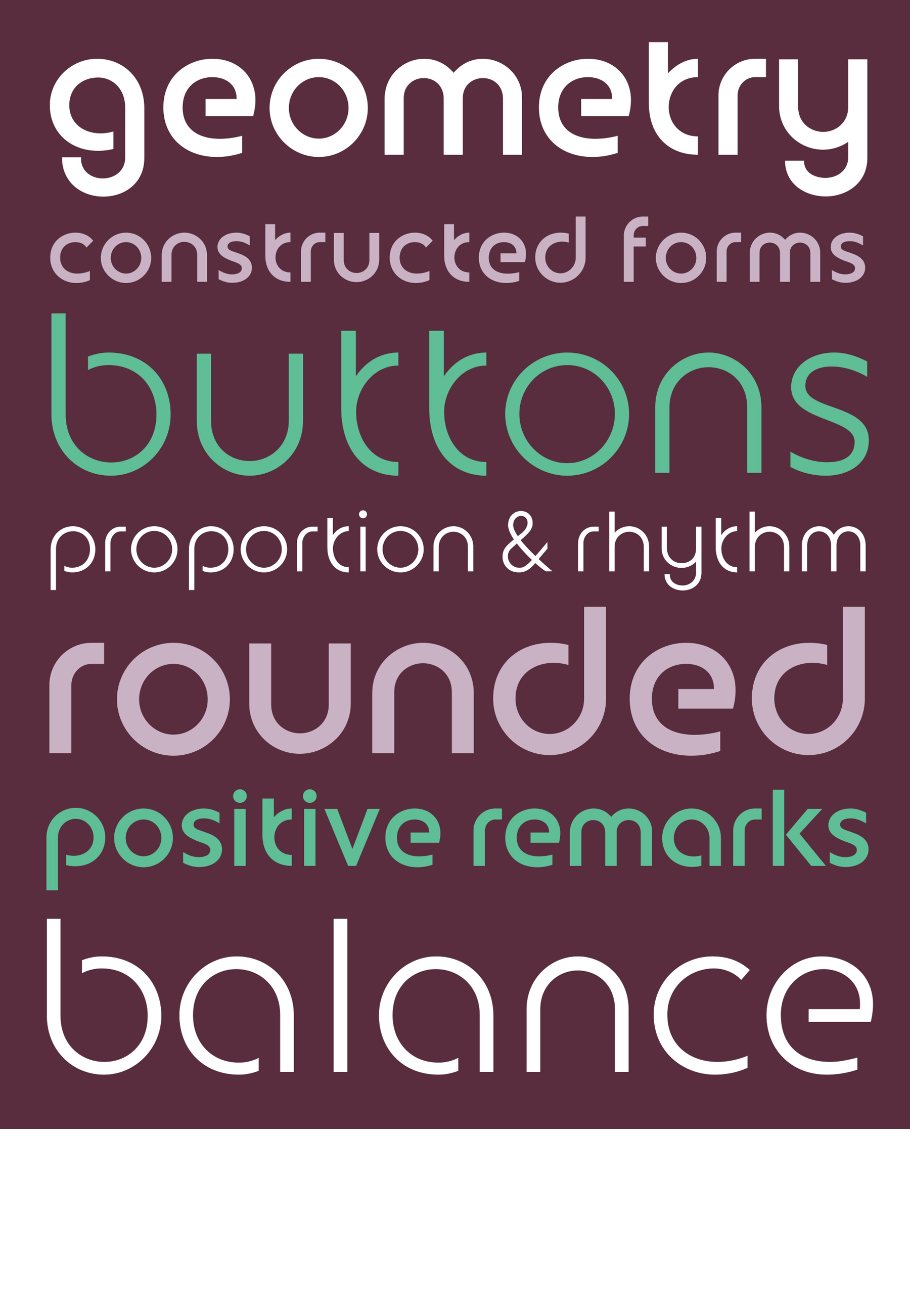 Custom Type Design: Geometry
