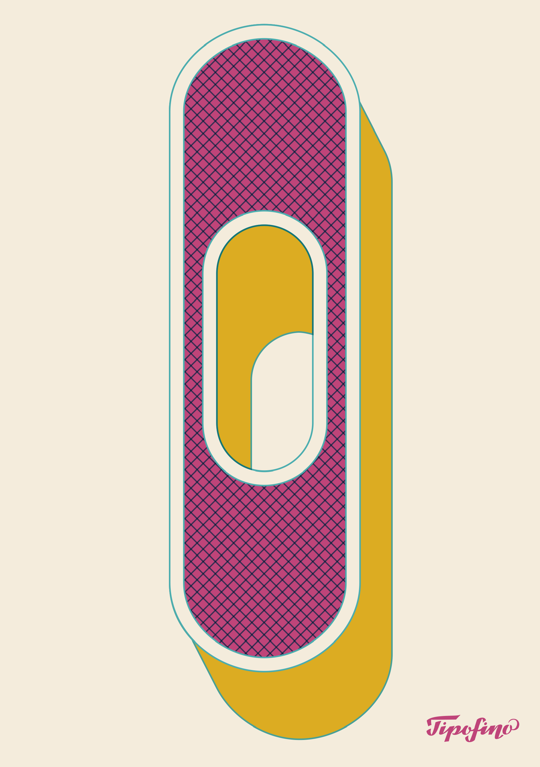 Typographic Poster: «O Wood Type» for Tipofino