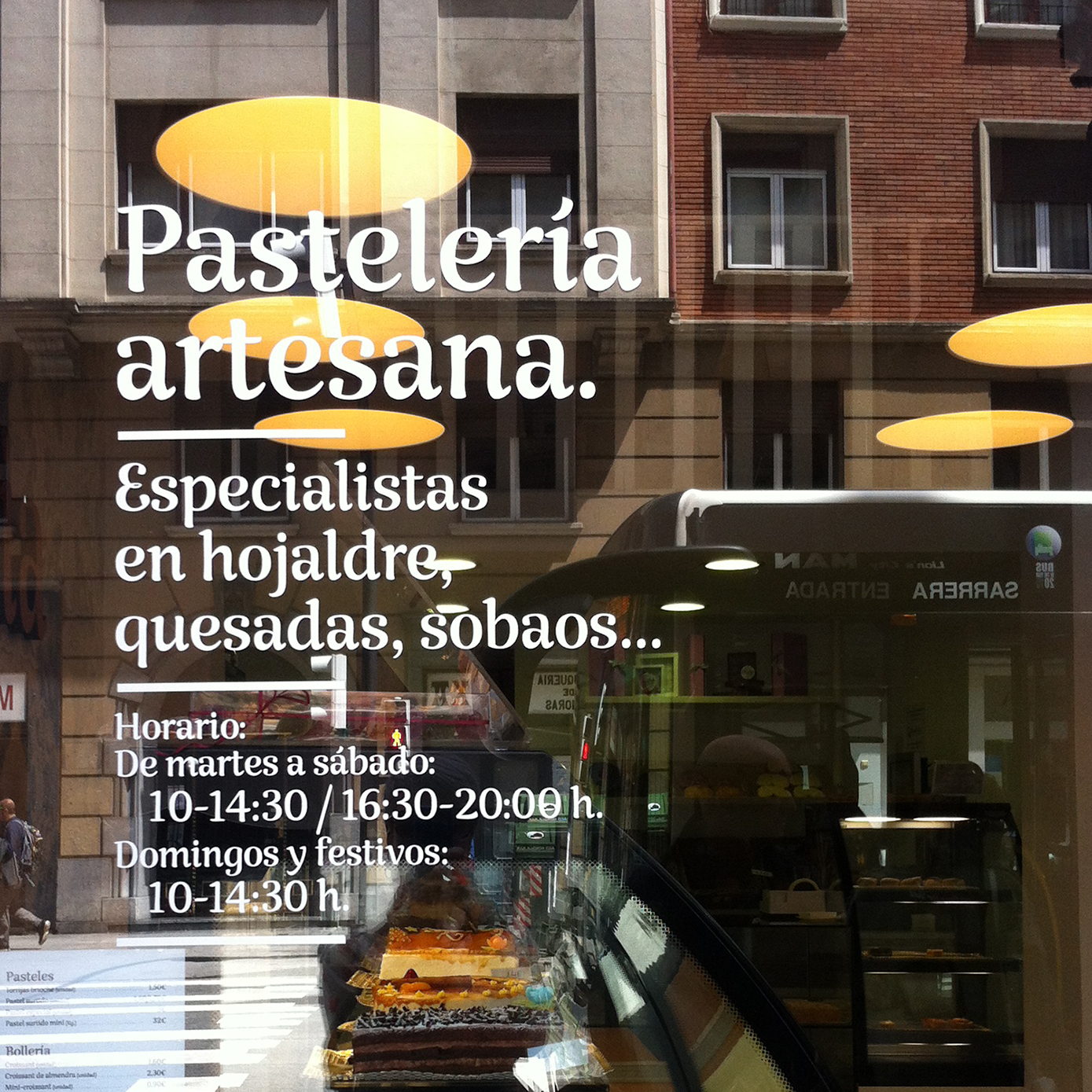 Retail Type Design: Rumba in use