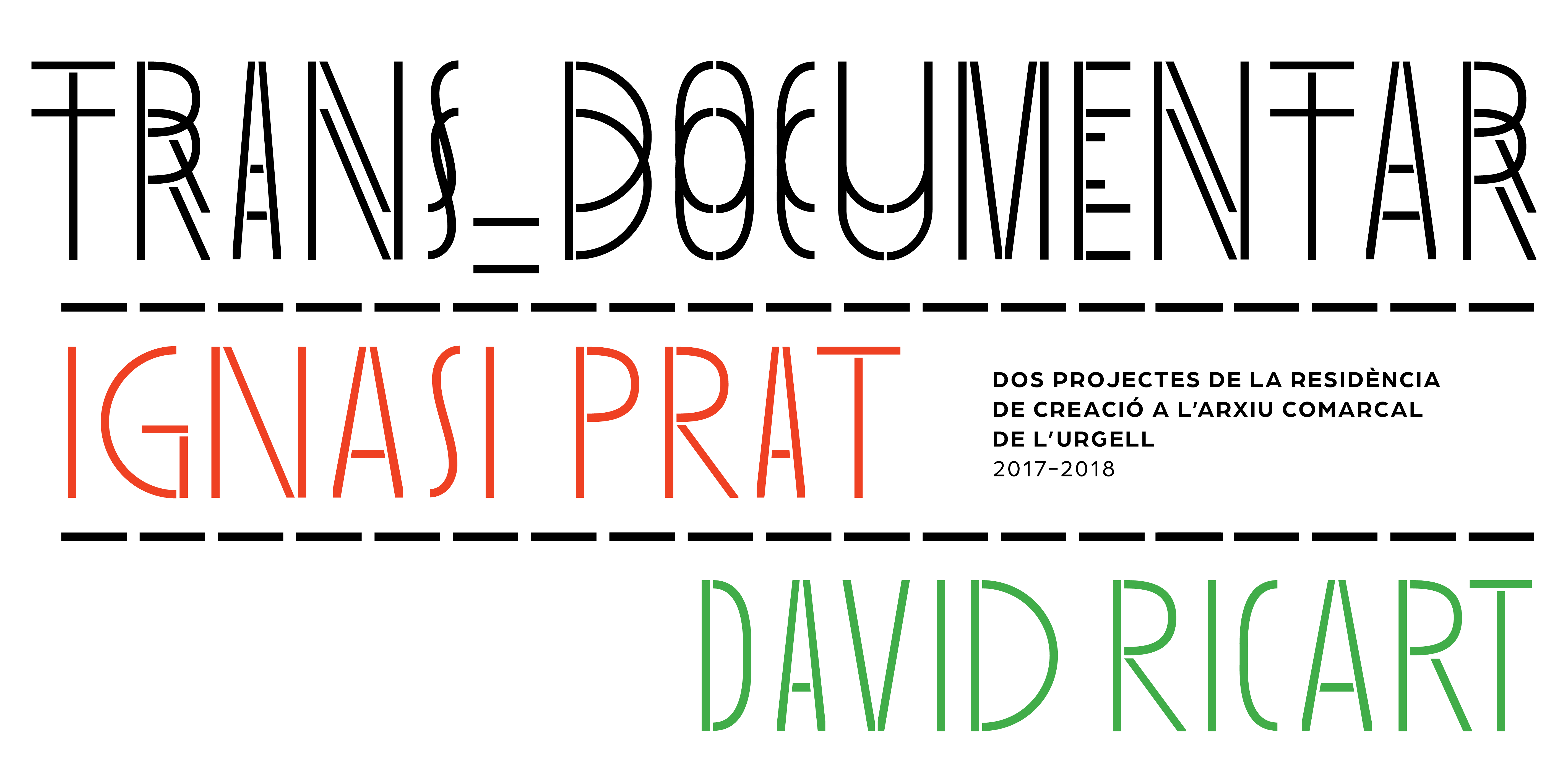 Graphic Design: Trans_Documentar. Ignasi Prat, David Ricart